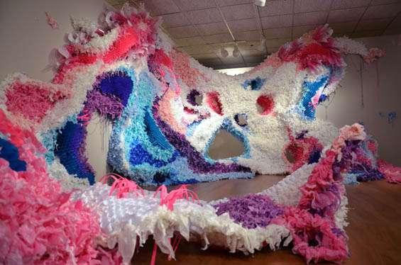Crystal Wagner - Urban Kudzu - Hashimoto Gallery 2013