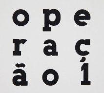 Operação 1 / org. E.M. de Melo e Castro; capas de João Vieira