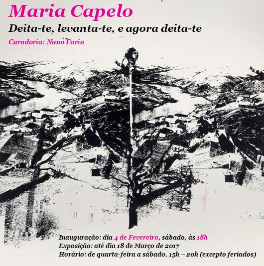 Marta Capelo//até 18 de março // Fundação Carmona e Costa