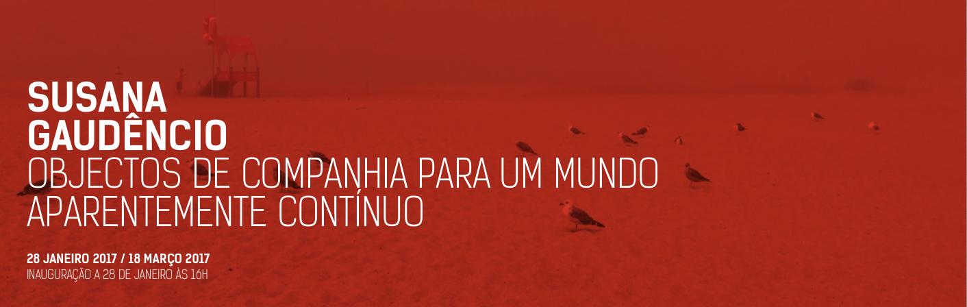 Susana Gaudencio//Carlos Carvalho //ate 18 março