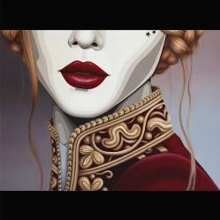 The Velvet Warrior   oil on canvas