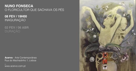 Nuno Fonseca | Coleção Acervo | até 6 de abril