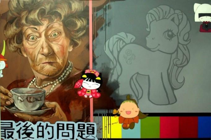 2010_Fora-de-Emissao_-Mixed-me-dia-on-canvas_-100cmx120cm_-696x465 fotos em capazes.pt