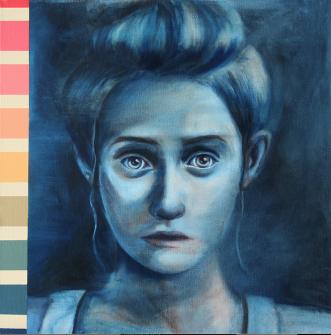 Imagem em ritamelo.pt | Filter VI | óleo sobre tela | 50cm x 50cm | 2017