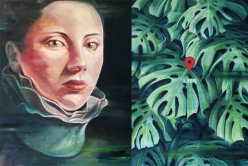 Imagem em Shairart.com | Império I, 2016 | Óleo sobre tela | 150 cm x 100 cm | Rita Melo