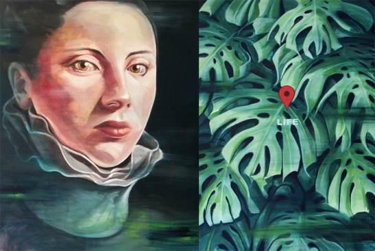 Imagem em Shairart.com   Império I, 2016   Óleo sobre tela   150 cm x 100 cm   Rita Melo
