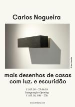 Carlos Nogueira | Galeria 3+1 | até 23 de junho 2018