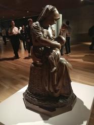 Aimé-James Dalou | Mãe Bretã | Londres 1873 | Gesso Patinado