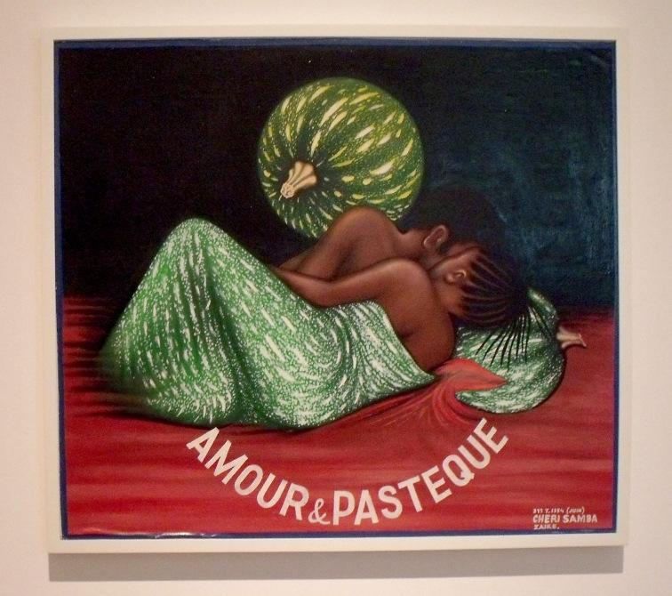 Chéri Samba | Amour & Pasteque, 1984