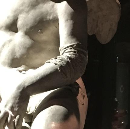 (detalhe)Jean-Baptiste Carpeaux | Cupido Ferido | Paris 1873 | Gesso copy