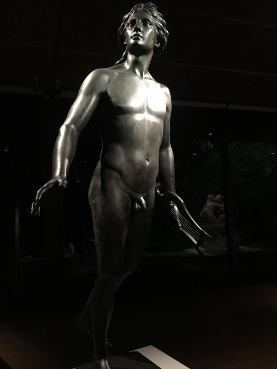 Jean-Antoine Houdon | Apolo | Paris 1790 | Bronze