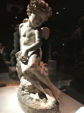 Jean-Baptiste Carpeaux | Cupido Ferido | Paris 1873 | Gesso