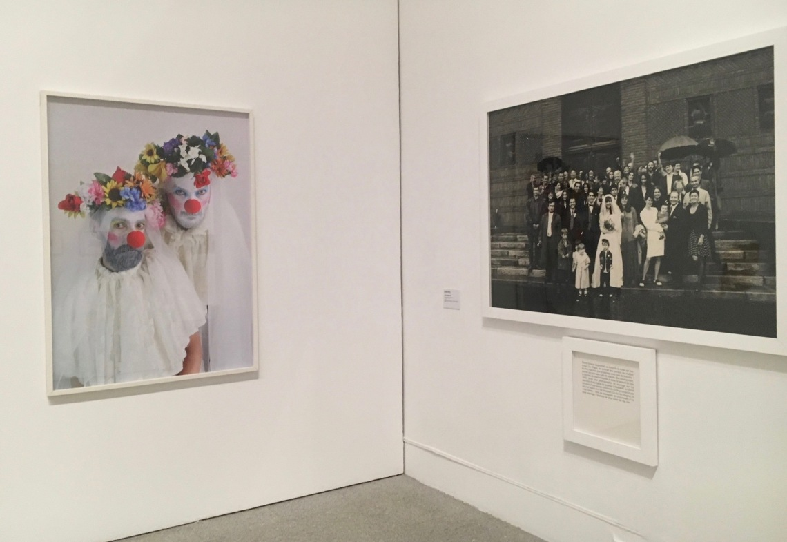João Pedro Vale e Nuno Alexandre Ferreira | The Wedding, 2017.jpg || Sophie Calle | Le faux marriage, 1992