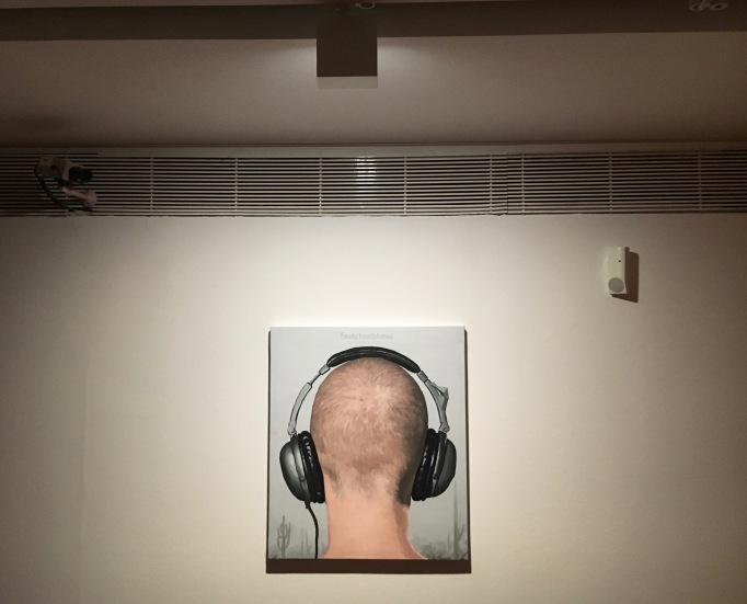 António Olaio | Faulty Headphones, 2012 | óleo sobre tela